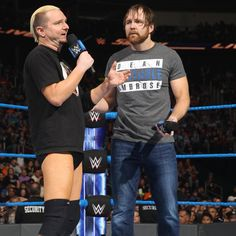 SmackDown 11/1/16: James Ellsworth attempts to apologize to Dean Ambrose
