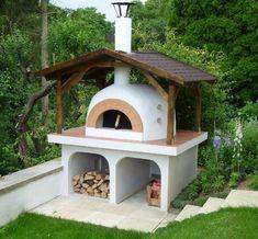Die Les Cheminees FD Serie sind günstige, holzgefeuerte Pizzaofenbausätze (Kuppelöfen) für den privaten Gebrauch.
