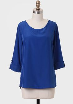 Her Majesty Blouse In Royal Blue at #Ruche @mimi ヾ(^∇^)