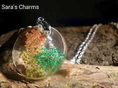 925 Silberkette mit Dillblüten von Sara´s Charms auf DaWanda.com
