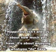 Happiness..