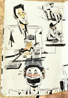 Sketches from Disney orientation
