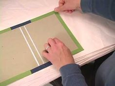 Easy How To Professional Looking Home Book Binding How To-part 4