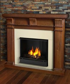 Look what I found on #zulily! Walnut Porter Ventless Gel Fireplace by Real Flame #zulilyfinds