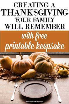 Want to have a fun Thanksgiving with your family? Looking for some fun Thanksgiving traditions for kids of all ages? This mom of 9 has you covered with a free printable Thanksgiving keepsake to keep the memories alive for years to come! Thanksgiving Books, Free Thanksgiving Printables, Thanksgiving Traditions, Thanksgiving Recipes, Free Printables, Fall Recipes, Anxiety Tips