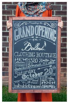 boutique grand opening flyer - Google Search