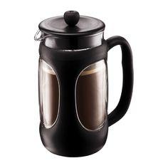 YOUNG PRESS Kaffeebereiter, 1.0 l Schwarz