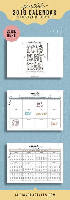 24 best Planner Printables by Alejandra\u0027s Styles images on Pinterest