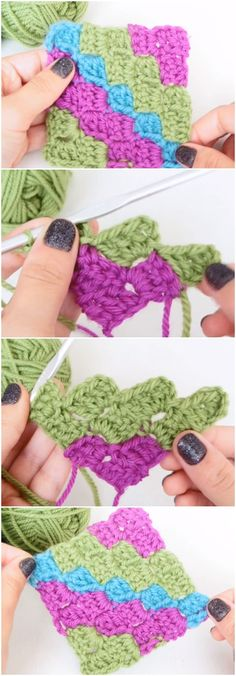 Learn To Crochet C2C Corner to Corner Free pattern [Video]