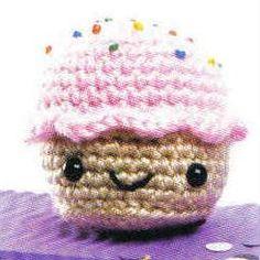 Amigurumi Cupcake - FREE Crochet Pattern / Tutorial - need google translate!