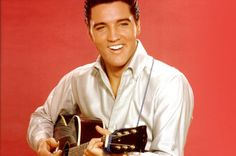 Elvis Presley pictured playing guitar in Culver City, California in The King of Rock and Roll died on August at the age of 42 Elvis Presley Songs, Elvis Presley Pictures, Jerry Lewis, David Bowie, Elvis Presley's Birthday, 80th Birthday, Rare Elvis Photos, Star Wars, Ex Wives
