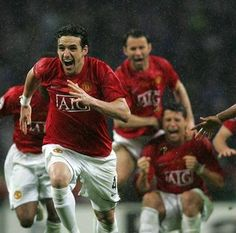 The incredible champions league final against Chelsea ♥