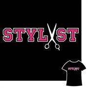"""behindthechair.com's """"Stylist"""" T-Shirt: This cool colligate-inspired tee shouts """"I'm a stylist and I'm proud of it!"""" The perfect tee for recent grads! Available at www.behindthechair.com/shop, $24.95"""