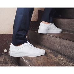STEP INTO WEEKEND #commonprojects #newink #bball #hightops #sneakers