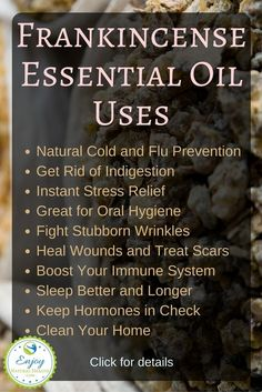 Frankincense essential oil is a must have in your oil collection. Here are 10 reasons why!