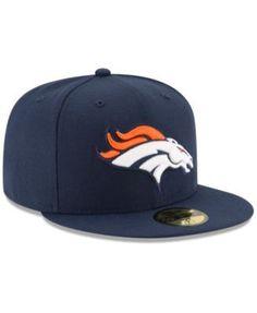 New Era Denver Broncos Team Basic 59FIFTY Fitted Cap - Navy/Navy 7 3/8