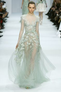 light green whimsical ethereal