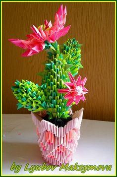 Модульное оригами . схемы :) Paper Oragami, Origami And Kirigami, Paper Crafts Origami, 3d Paper, Origami Paper, Origami Flowers, Paper Flowers, 3d Origami Tutorial, Modular Origami