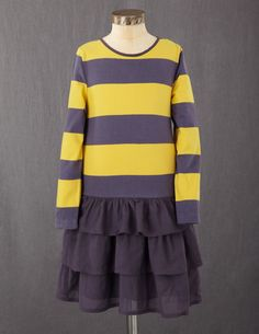 For someone who is not totally girly-girly.  Love the sporty prettiness!  Stripy Ruffle Dress