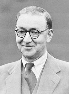 Sir John Douglas Cockcroft (27 May 1897 – 18 September 1967) was a British physicist. He was awarded the 1951 Nobel Prize in Physics for splitting the atomic nucleus.