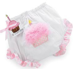 Cupcake Birthday Infant Bloomers