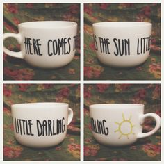 I appreciate this cute little mug's attempts at making a morning happy which is why I need it to cheer up my mornings