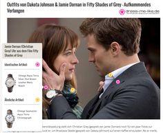 Jamie Dornan (Christian Grey) Uhr aus dem Film Fifty Shades of Grey
