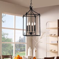 Also at Home Depot: Hastings collection. The Gray Barn Calloway Hill Iron Hanging Lantern (Black, Iron, Lantern Chandelier) Black Iron Chandelier, Lantern Chandelier, Iron Chandeliers, Hanging Lanterns, Hanging Lights, Chandelier Lighting, Lantern Pendant, Foyer Chandelier, Lantern Lighting