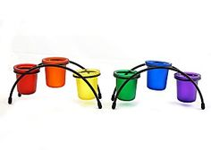 Image result for rainbow candle holder