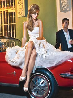Sultry, Glamorous Wedding Gowns : Brides