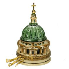 Vatican's St. Peter's Bailica Dome Limoges Box (Beauchamp) - Travel | World - All Limoges Boxes