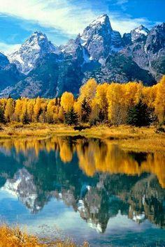 Grand Teton National Park Rocky Mountains Northwest Wyoming