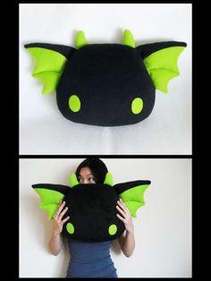 Zeek by ~melkatsa on deviantART dragon pillow