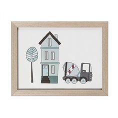 Delizioso quadretto della collezione village di Sebra per rendere ancor più carina la cameretta del vostro bambino.
