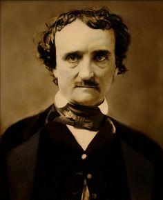 Edgar Allan Poe portrait  daguerreotype