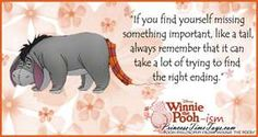 Eeyore Winnie the Pooh Movie Quote - Pooh-ism