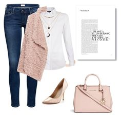 """Untitled #114"" by babis117 ❤ liked on Polyvore featuring Leith, Michael Kors, Zara, Charles David and Charlotte Russe"