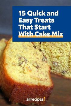 """15 Quick and Easy Treats That Start With Cake Mix 