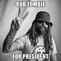 The man is a genius - great musician, director and author. Music Love, Music Is Life, Good Music, Zombie Movies, Scary Movies, Horror Movies, Sherri Moon Zombie, The Devil's Rejects, White Zombie