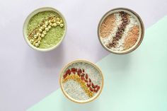 The sexiest Chia Pudding you've ever seen & the recipes to match them.