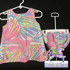 Beautiful Girl's 2 pc set by Lilly Pulitzer, size 12-18 m, just $28.99