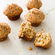 Apple-Cinnamon Muffins from Cooks Country