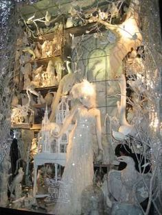Wonderland Storefronts - The 2009 Bergdorf Goodman Holiday Windows on 5th Avenue in New York City are based on Alice in Wonderland, a theme growing rapidly in popularity th...