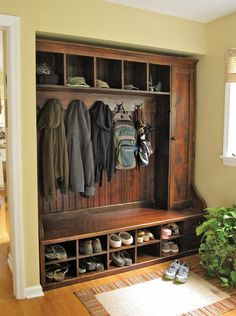 Front entry storage ideas entry traditional with barnwood bench custom barnwood furniture mudroom bench
