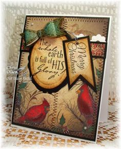 ~His Glory~ by glowbug - Cards and Paper Crafts at Splitcoaststampers