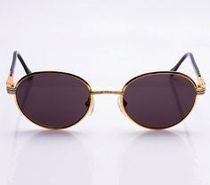 Fabolous For Vintage Frames 24kt Gold Sunglasses