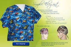 e8ffebf7c9a Custom made nursing scrub tops specially made for you! Nursing Uniforms, Scrub  Tops,