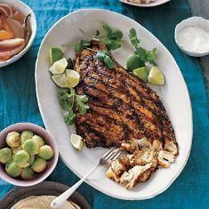 Grilled Fish (via www.foodily.com/r/spXnZqAoy)