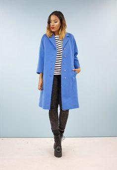 Vintage 60s Swing Style Coat / Jacket 159APA30