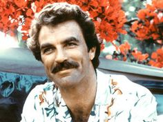 Tom Selleck as Magnum PI. Just look at those dimples! Tom Selleck, Jesse Stone, Magnum Pi, Magnum Force, Infj Personality, My Tom, Blue Bloods, Dimples, American Actors
